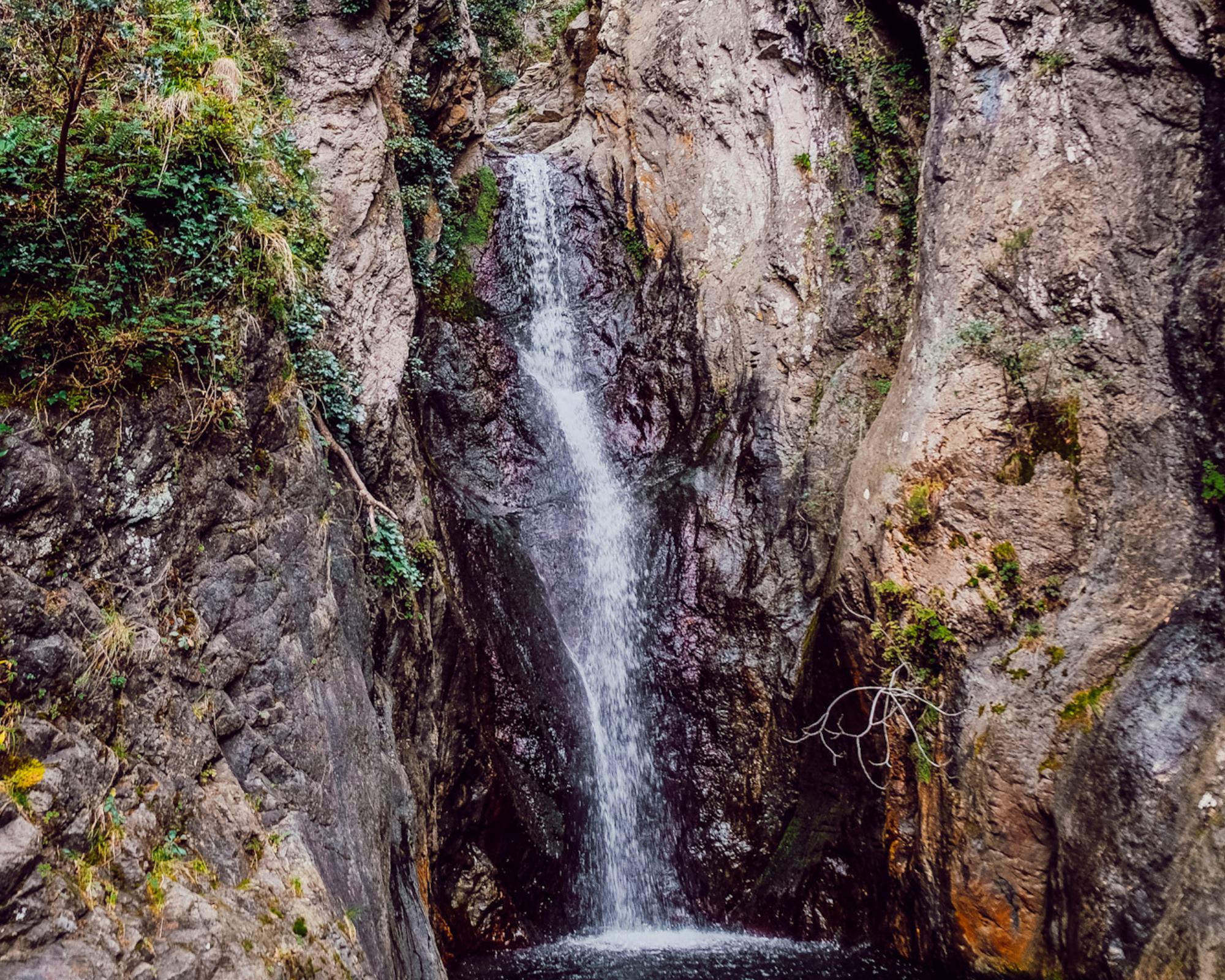 Randonnée cascade Céret