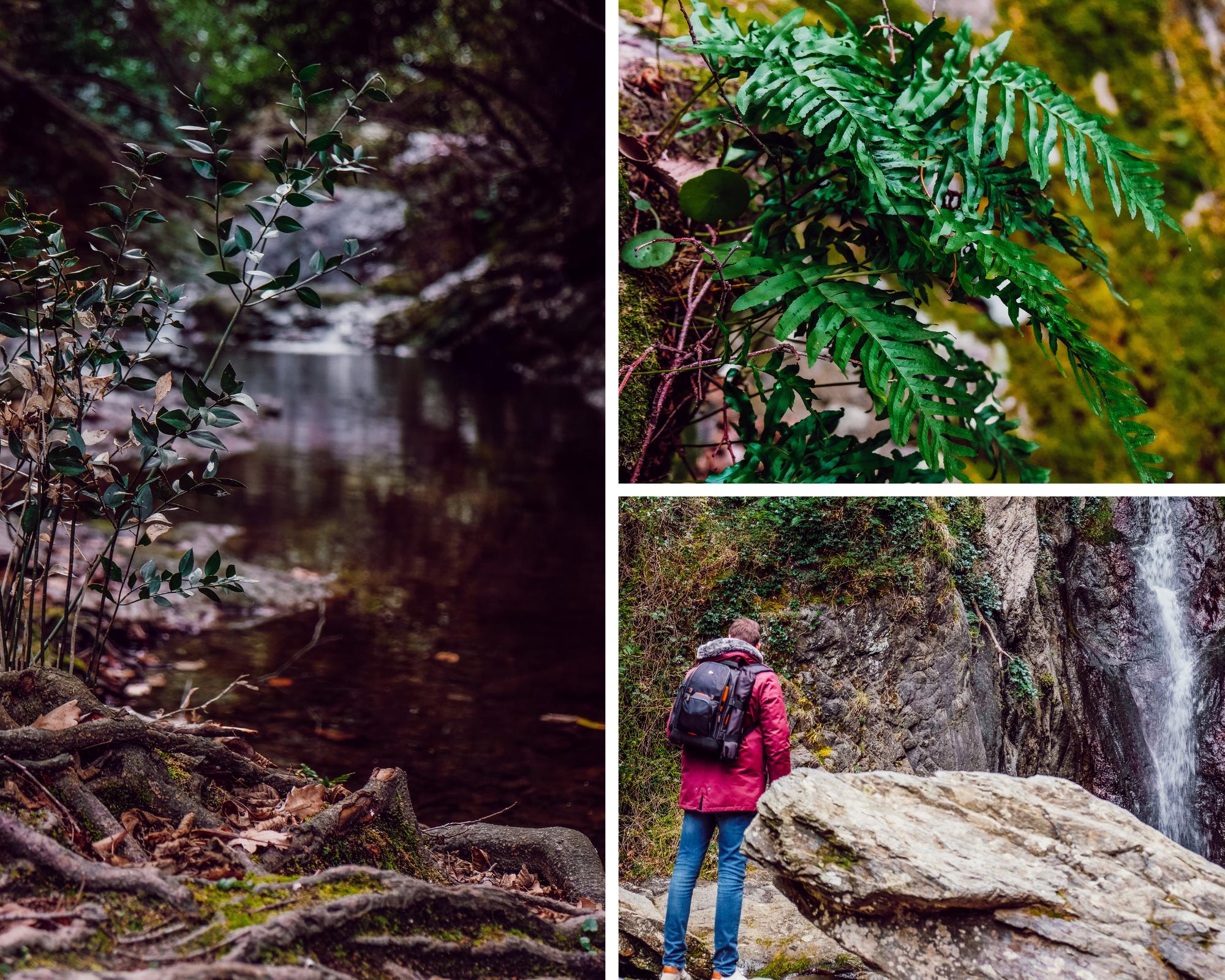 randonnée cascade baoussous Céret