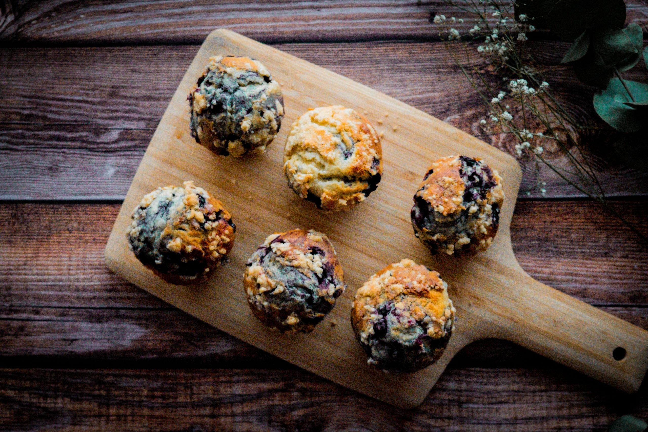 muffins aux myrtilles ultra moelleux
