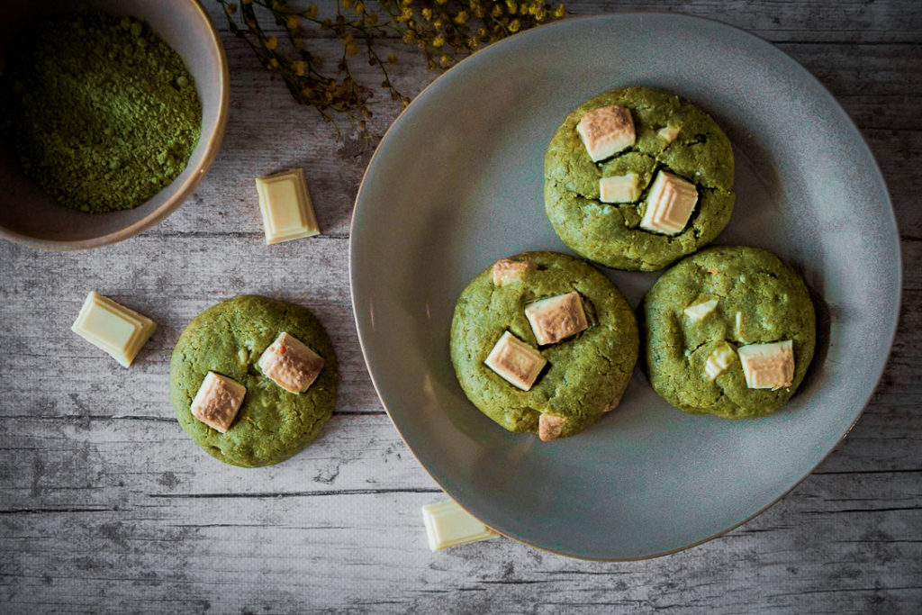 cookies thé vert matcha
