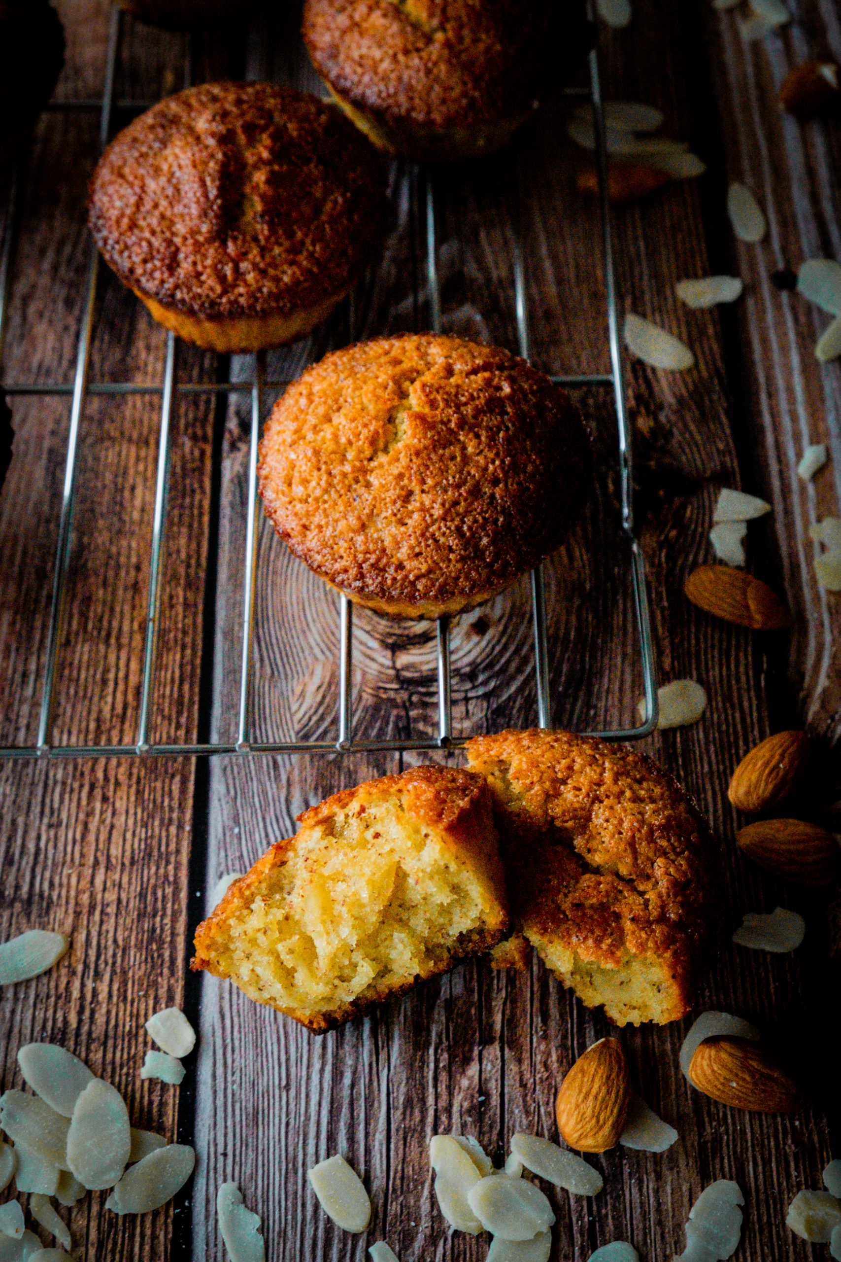 muffins amandes ultra moelleux