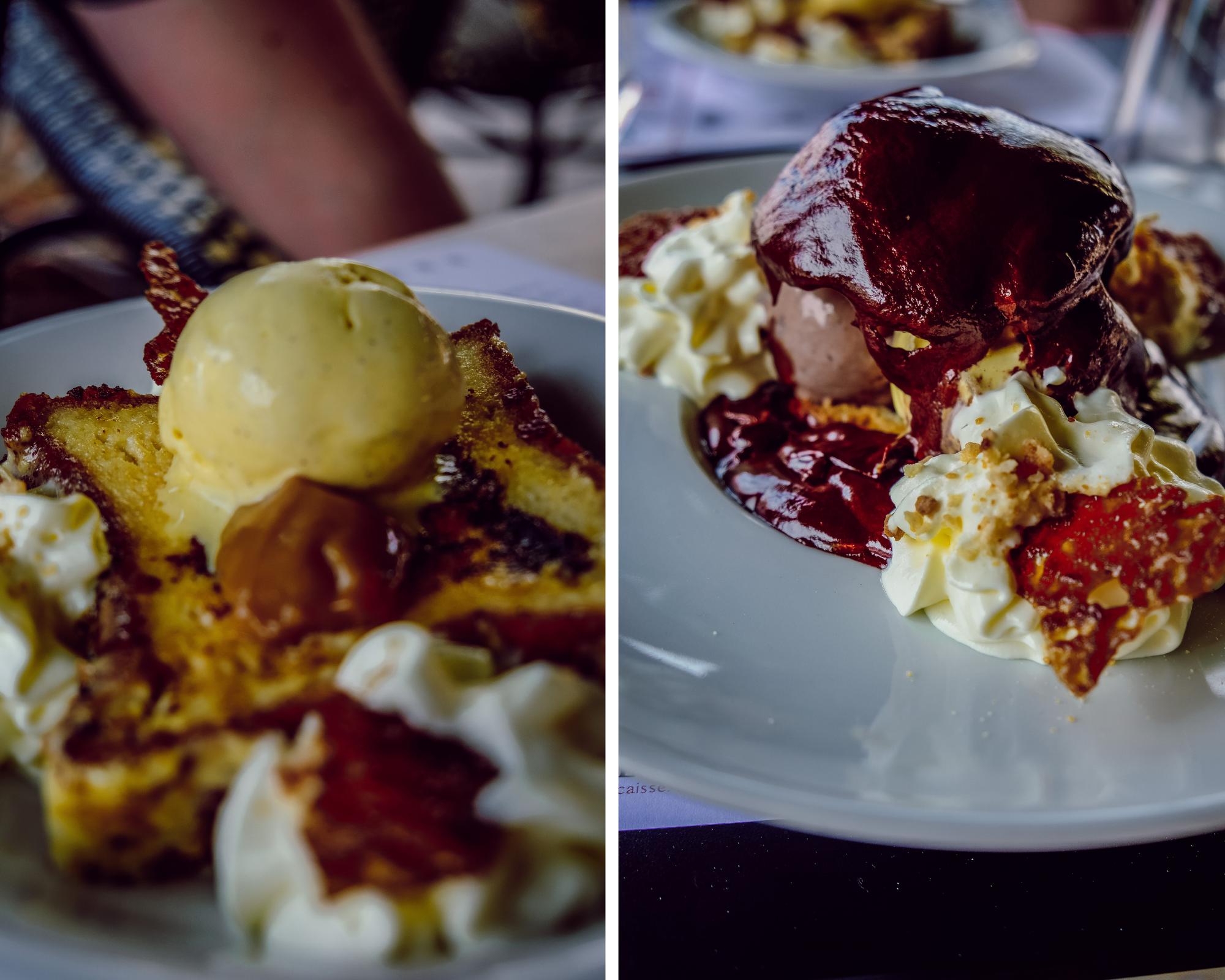Desserts à Saint Cyprien